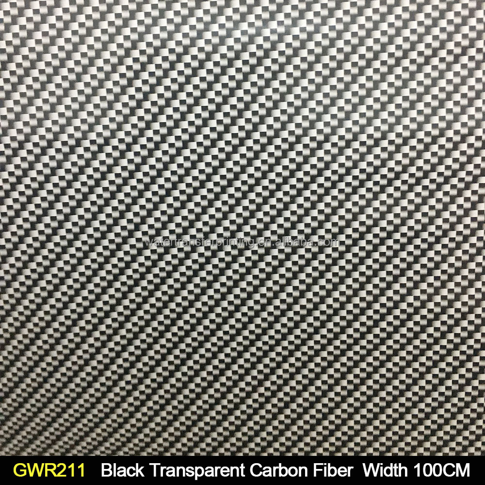 Water Transfer Paper Carbon Fiber Printing Film Hydrographics GWR211 Width 100CM Hydro Dipping Film