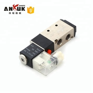 4V210-08 3 position 5 way 2 position 5 way solenoid air valve