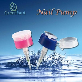 Good quality nail care wash nail pump washing dispenser pump hand pump for bottle