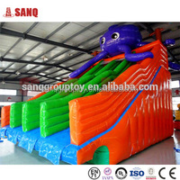 Factory Directly Banzai The Plunge Inflatable Water Slide and Pool