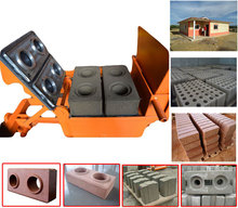 Small Compressed Earth Blocks Machines QMR2-40 Small Machines for Home Business from China