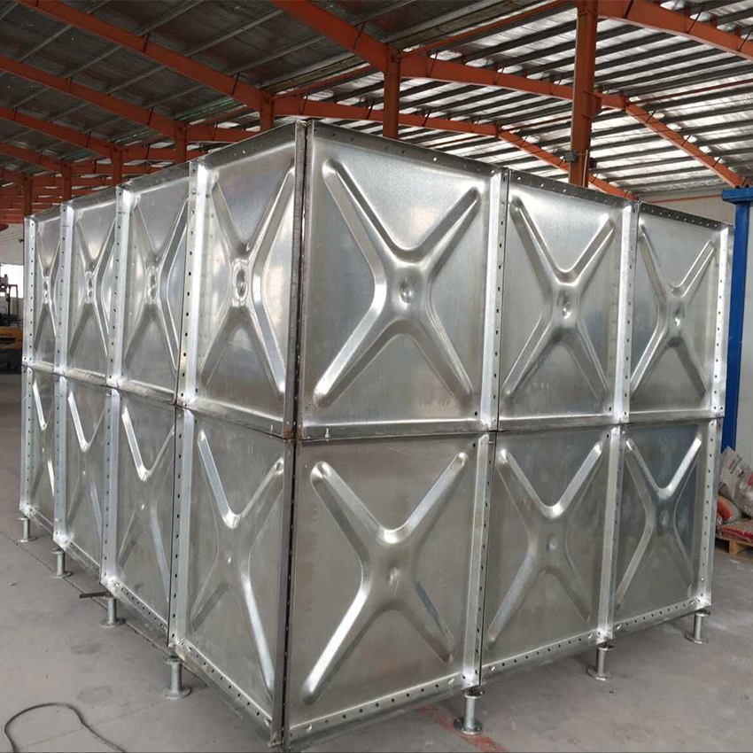 Rectangular Stainless steel water storage tank / flexible Water reservoir / Water container