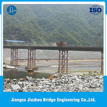 High Quality Low Cost and Fast Assembling prefab steel structure pedestrian bridge