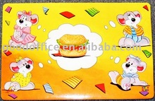 OEM Factory Wholesale Cartoon Kids table mat/ Placemat/ Eat mat