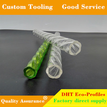 Custom multi-style high quality colored / clear acrylic plexiglass rod