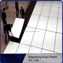 High glide synthetic ice rink and shooting pad by 100% uhmwpe ticona material