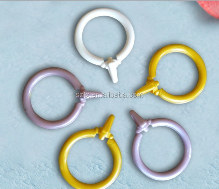 different colors curtain loop ring for roman shade