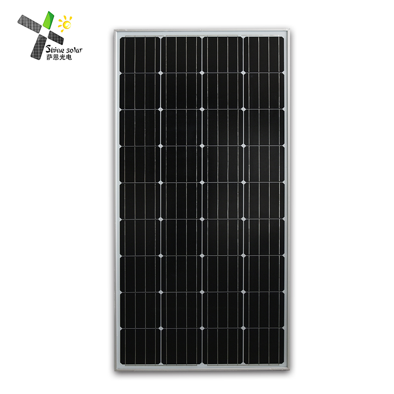 Free sample monocrystalline pv model 150w mono solar panel with good quality