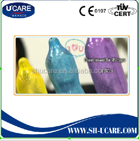 Special Designed Anatomic Shape Condom Sleeve