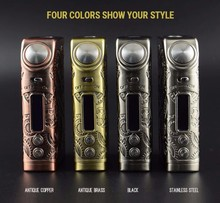 Tesla the New Arrived Electronic Cigarette Nano 120W Steampunk Design From Teslacigs Manufacturer