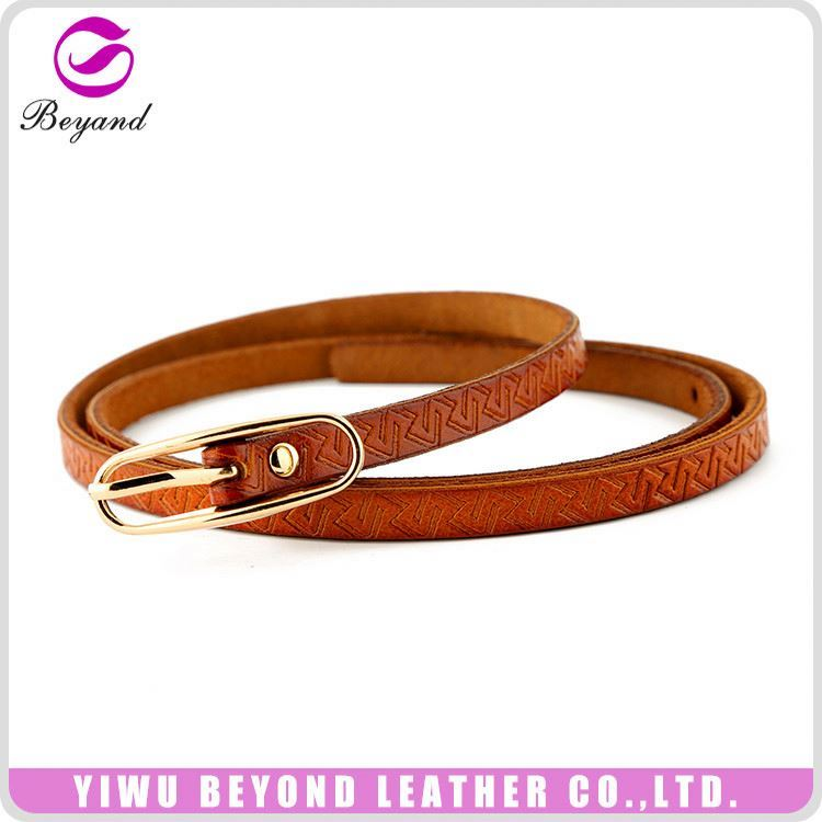 Latest arrival contemporary top brand leather belt wholesale