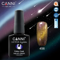 #51024o New Wholesale CANNI Chameleon Cat Eyes Gel, 7.3 ml gel nails, 12 colors magic gel nail