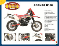 BRONCO R150 Classic street legal dirt bikes for sale,cross-country motorcycle,cool sport motorcycle 200cc