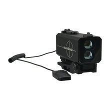 LaserWorks 700m Recoil Resistant continuous ranging Rifle/Bow Mode Hunting Rifle Scope Mate Laser Range Finder