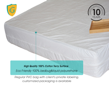6 Sides Waterproof&Bed Bugs Against High Quality Zippered Mattress Cover/Encasement