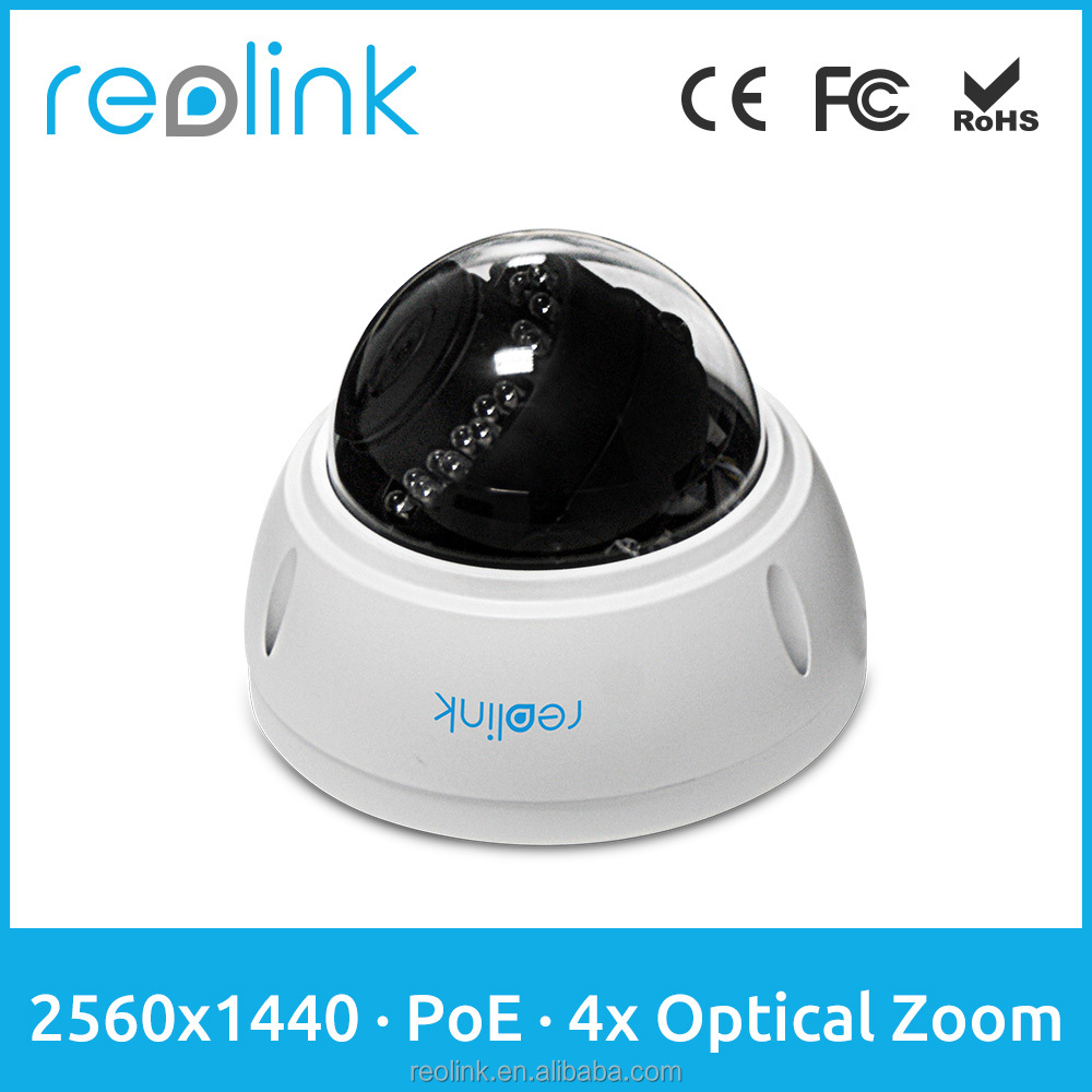 Reolink IPCAM Dome 4Megapixel PoE outdoor Waterproof IP Camera RLC-422