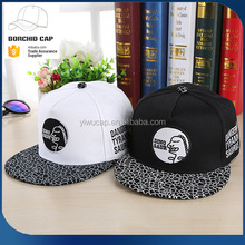 flex fit cheap sunshade new style fashion snapback cap cartoon pattern embroidery hip-hop hat for sale