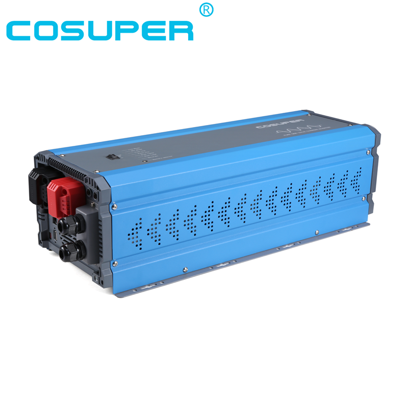 inverter 4000w charger battery 48vdc to 110vac inverter pure sine wave