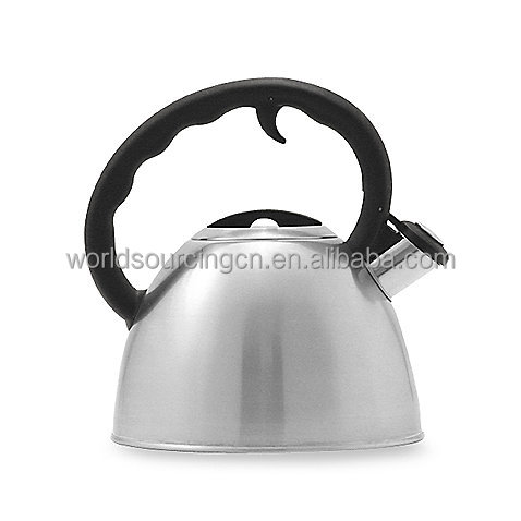 1.5-Quart Brushed Stainless Steel Whistle Tea Kettle
