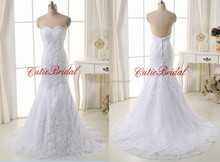2016 Trumpet Wedding Dress New Lace Real Image Wedding Dress Mermaid Lace Wedding Dress