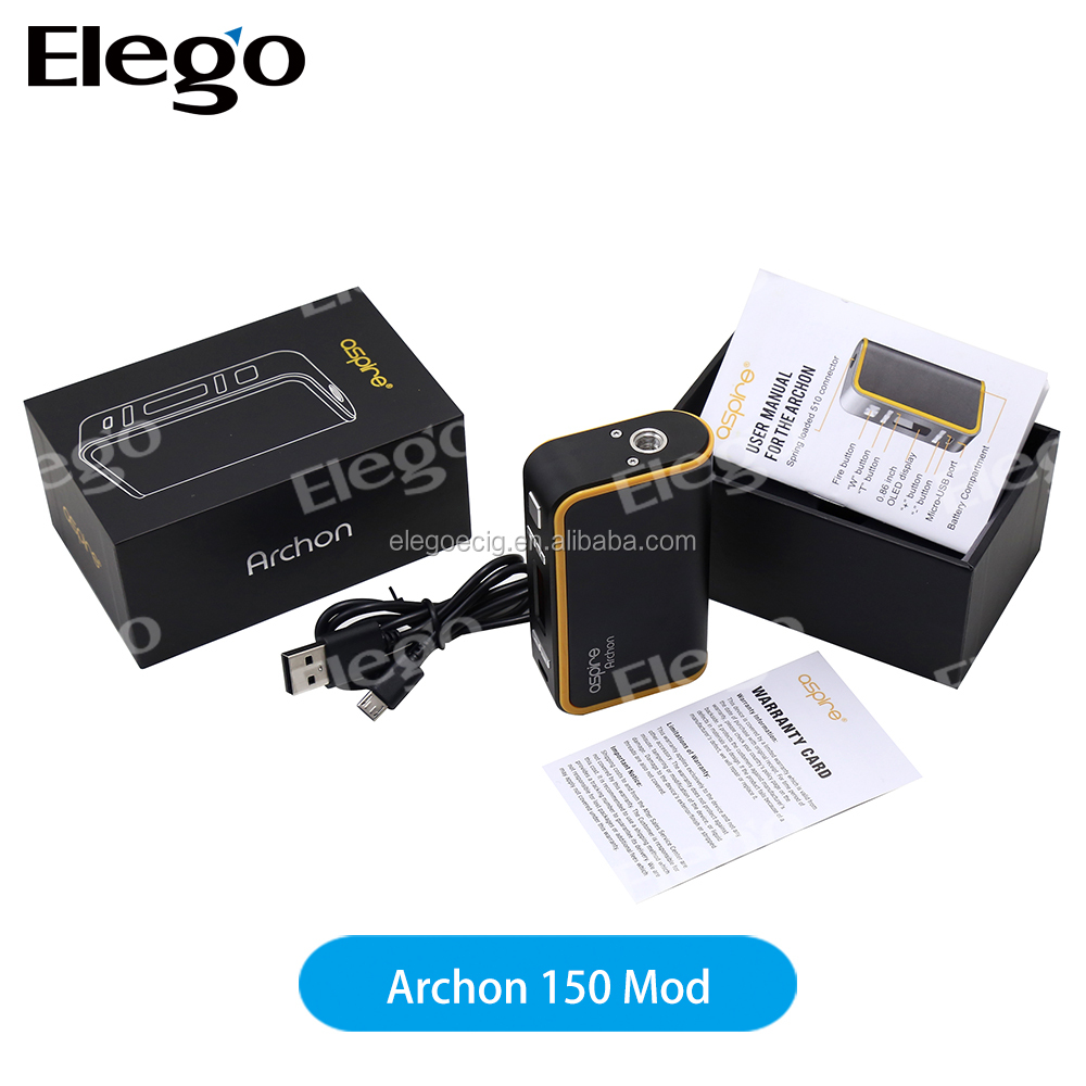 New Arrival Magnetic battery cover 150W Aspire Archon e.cig box mods