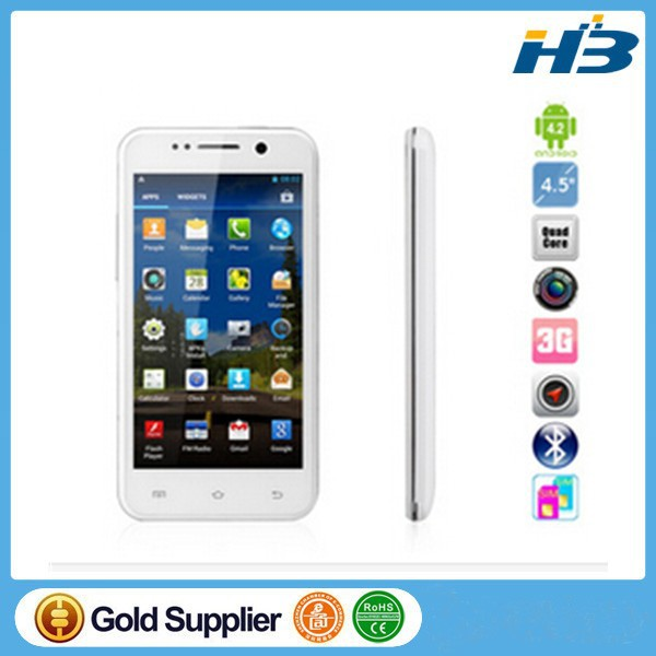 "New 4.5"" IPS ThL W100S MTK6582 QuadCore 1.3GHz Android 4.2 GPS Smartphone"