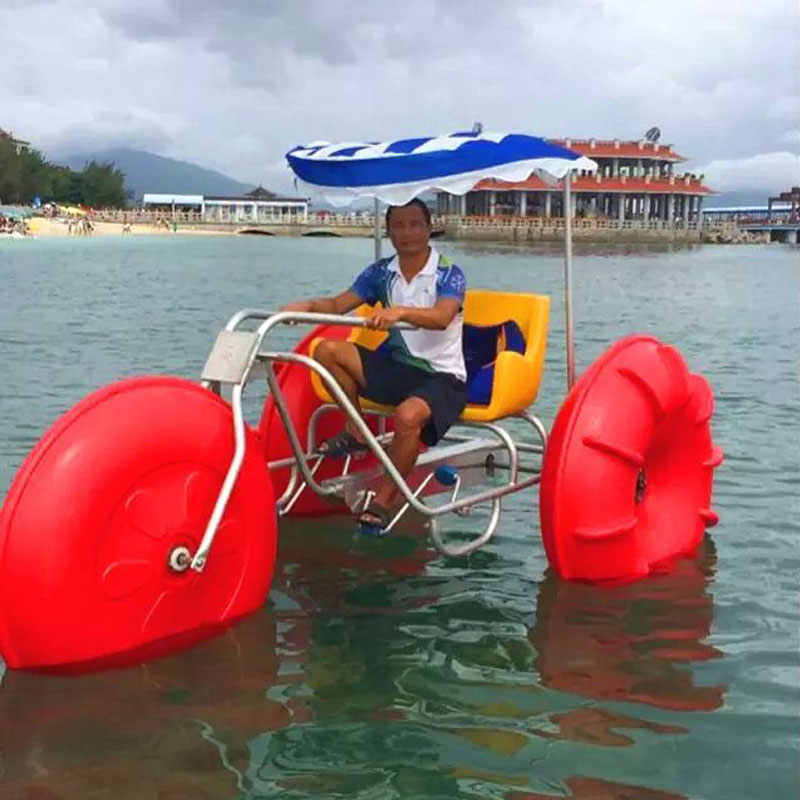 Best price of aquatic bike for family/amusement park aquatic bike tricycle/selling well amusement water bike