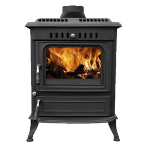 High Quantity Cheap Freestanding Matt Black Paint Cast Iron Wood Burning Stove For Sale