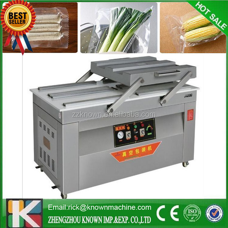 price for double chamber vacuum packing machine for halal deer meat