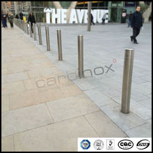 Carbinox stainless steel road guard rails