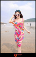 New Summer Beach Wear Bikini Cover Up Sarong Swimsuit Dress Pareo promotion sarong pareo