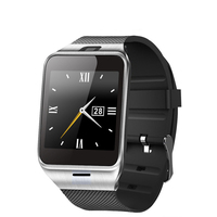 GV-18 New Arrival MTK2502 Android Smart Watch with heart rate monitor and wifi Bluetooth a8 smart watch