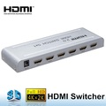 Real 4K/60Hz 2.0 version 5 ways HDMI switcher with CEC,3D
