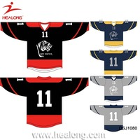 China Factory Custom Sublimaiton Ice Hockey Jersey Uniform Cheap Equipment