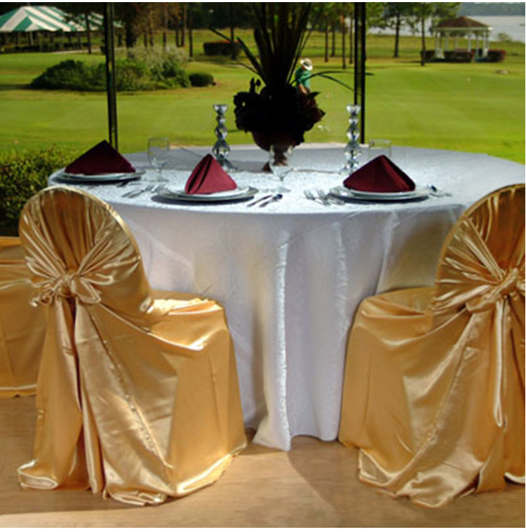 hotel banquet dinner chair cover ,Universal self tie chair covers