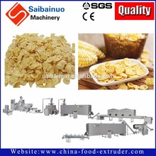 automatic corn flakes production process