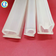 Heat Resistant Silicone Rubber Seal Strip Best Glass Door Rubber Seal Extruded Rubber Strip