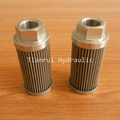 All stainless steel oil suction filter WU-25X180