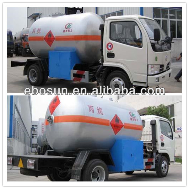 Tanker truck supplier DFAC small gas delivery truck