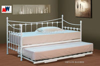 ORNATE DAY BED WITH UNDER BED TRUNDLE BED