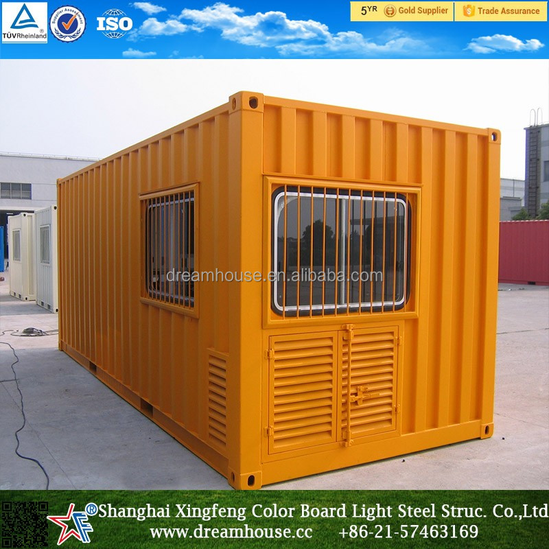 High Quality Prefabricated Office Container Home /Luxury design Prefabricated Container Houses/mobile home