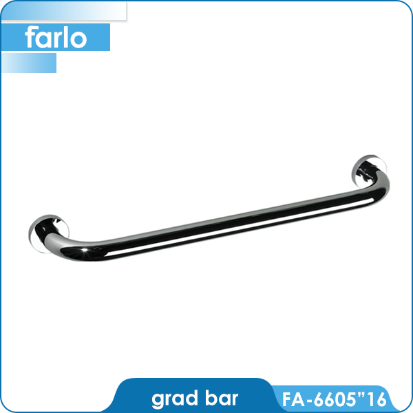 FARLO Stainless Steel Decorative Grab Bars
