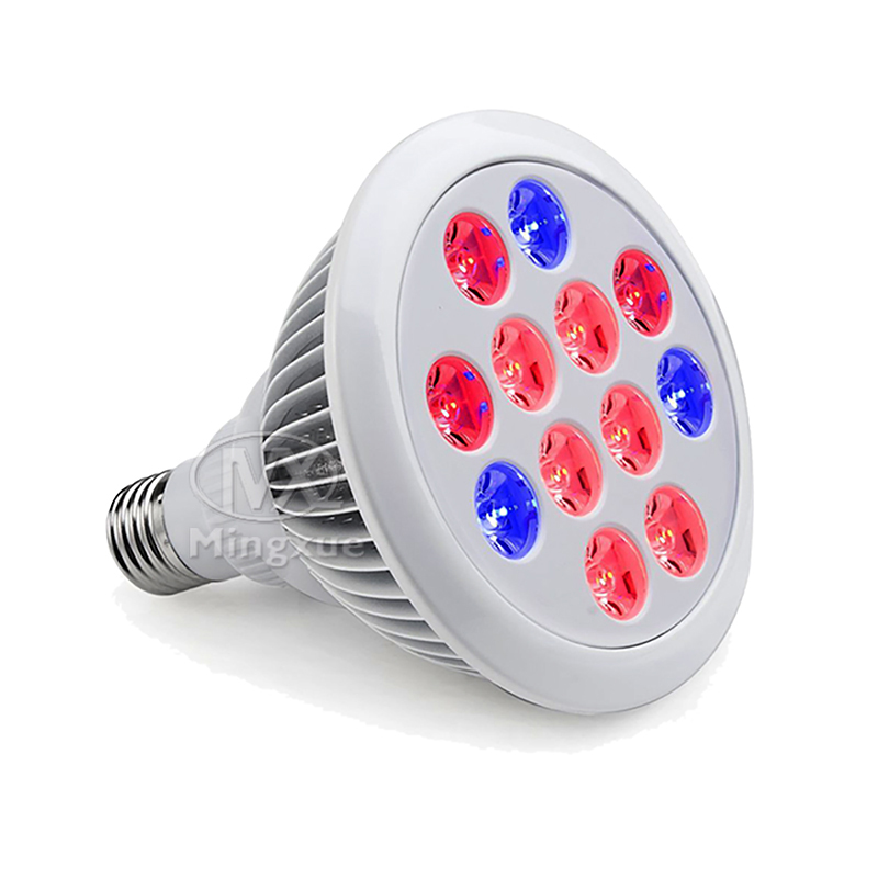 China high quality cheap led grow light 12w 24w full spectrum led grow bulb for mini greenhouse
