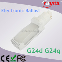 g24q 2 base lunera led 13w,g24d 3 led, electronic ballast compatible pl g24 led lamps for US market