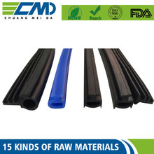 Aging Resistance Colorized Door / Window T Shape Rubber Seal Strip