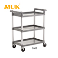 Guangzhou MUK hotel restaurant kitchen serving cart reinforced multifunction trolley