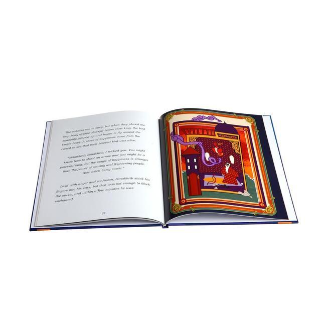 printing hardbound and card board kid book