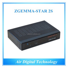 Zgemma-Star 2S satellite receiver HD DVB S DVB S2 twin tuner satellite tv decoder no dish support kodi with IPTV