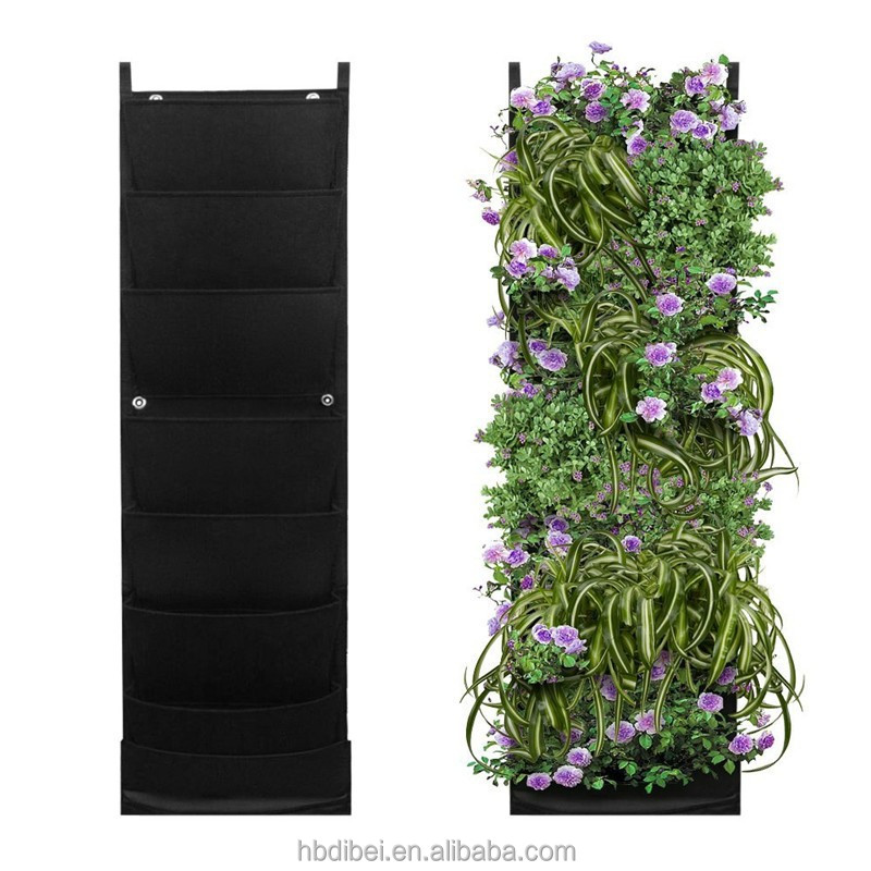 Top quality durable garden wall decorative grow bags for wholesale