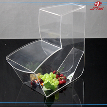 Hot sale clear plastic candy display jar, wholesale acrylic candy jar